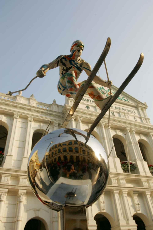 2008奥运景观雕塑国际巡展—燃亮澳门